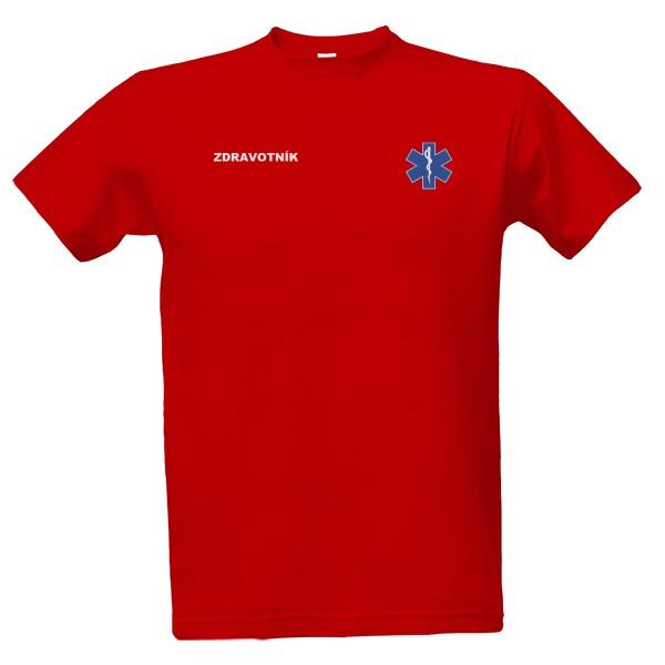 Tričko s potiskem Zdravotník  a2bb58ddd5